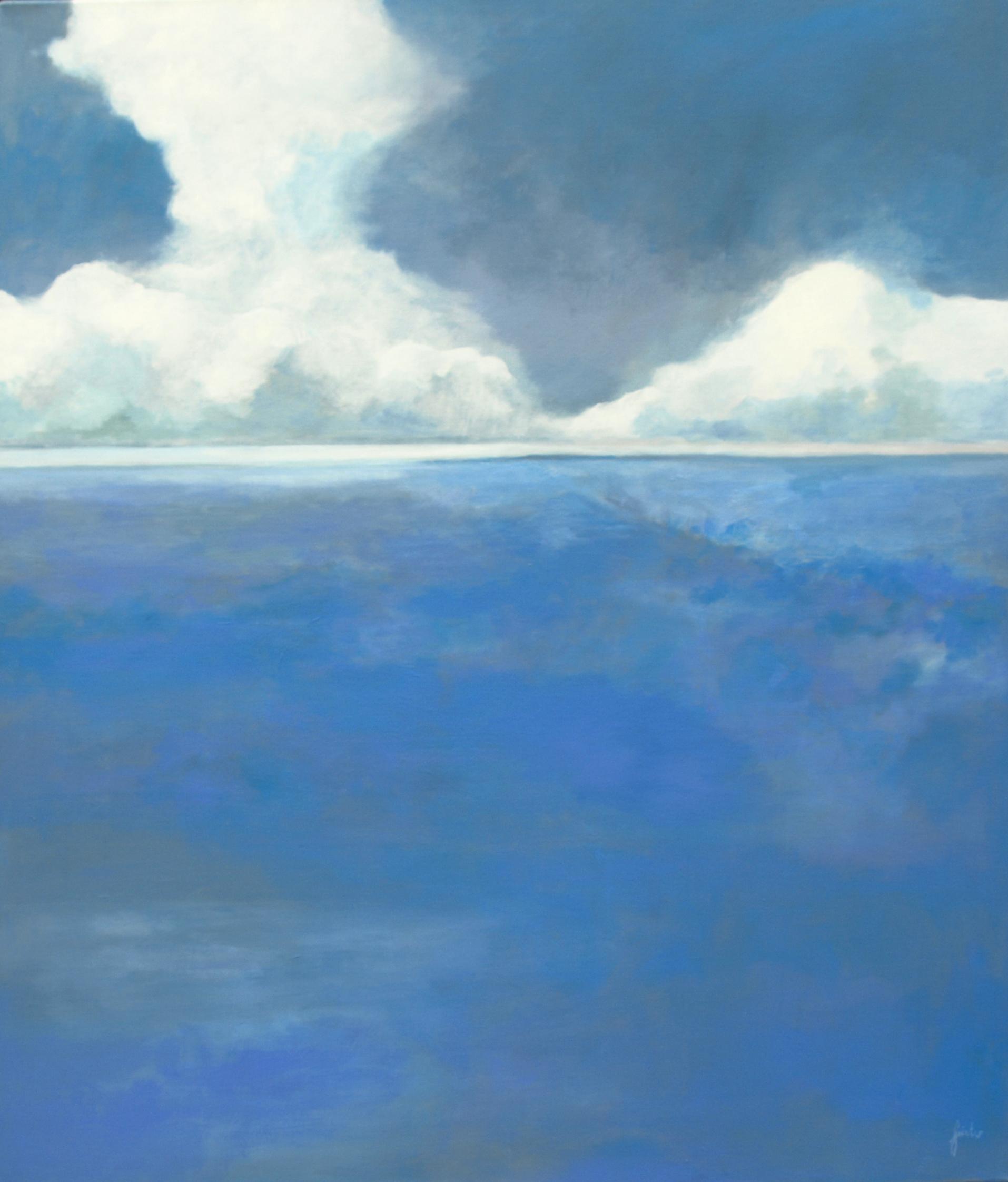 Himmel und Meer Acrylbild